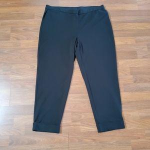 J. Jill Black Ankle Pants XL Black New
